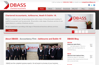Website preview image for: DBASS Chartered Accountants