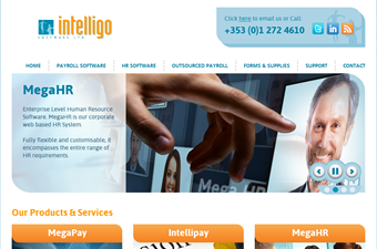 Website preview image for: Corporate HR and Payroll Software and Outsourcing Services
