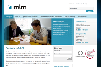 Website preview image for: MLM Solutions